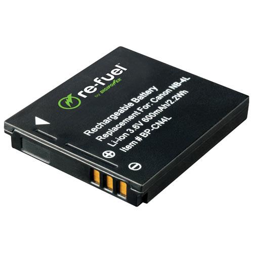 Batterie au lithium-ion Re-Fuel pour appareils photo numériques de Canon (RF-CN4L)
