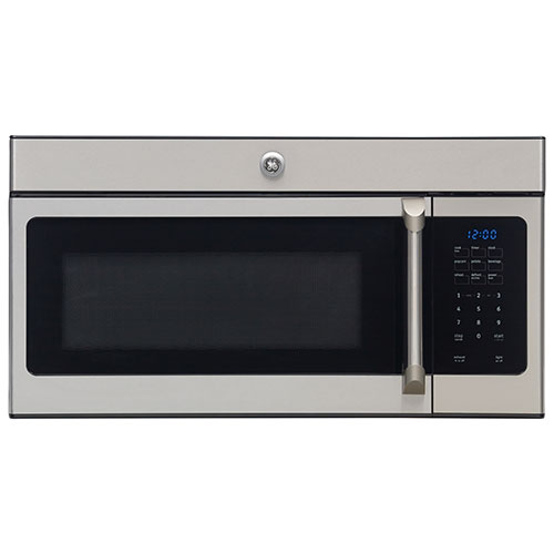 GE Cafe Over-the-Range Microwave - 1.6 Cu. Ft. - Stainless Steel