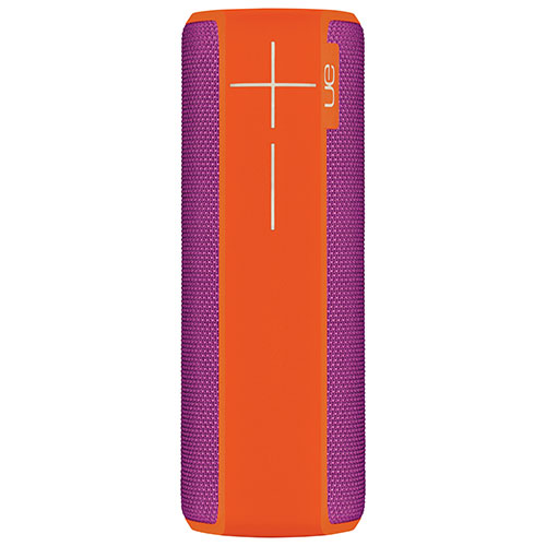 Haut-parleur sans fil Bluetooth étanche BOOM 2 d'Ultimate Ears - Orange - Violet
