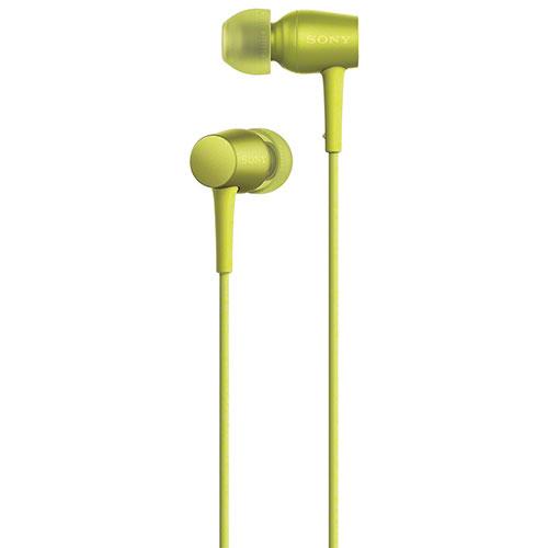 Sony h.ear In-Ear High-Resolution Headphones - Yellow