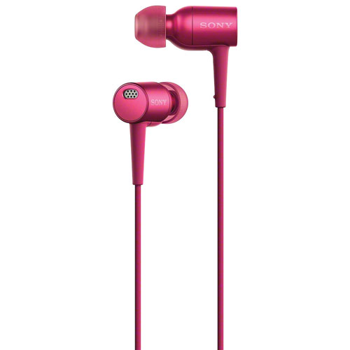 Sony h.ear In-Ear High-Resolution Noise Cancelling Headphones - Pink