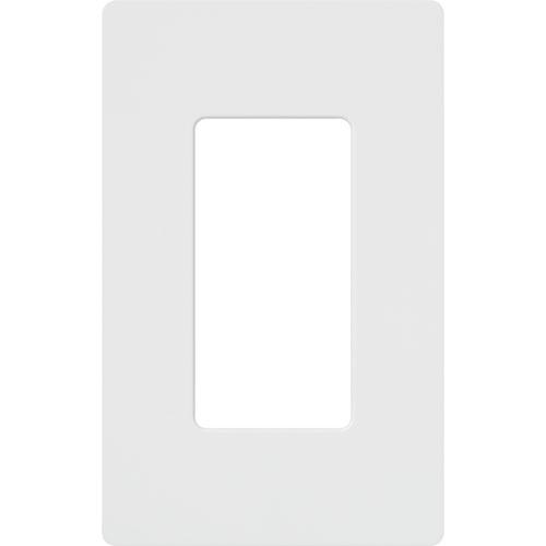 Lutron Claro 1-Gang Switch Wallplate (CW-1-WH)