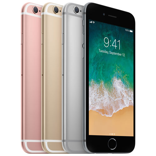 Fido Apple iPhone 6s 128GB - Large Plan - 2 Year Agreement