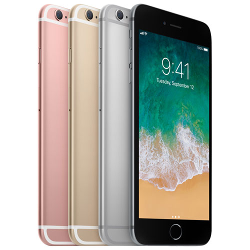 iPhone 6S Plus 128 Go d'Apple avec Virgin - Forfait Platine - Entente de 2 ans