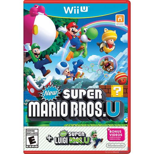 Ensemble New Super Mario Bros. U + New Super Luigi U (Wii U) - Usagé