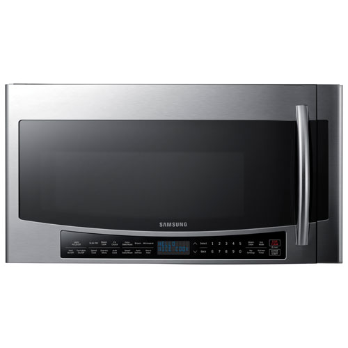 Samsung Over-the-Range Microwave - 1.7 Cu. Ft. - Stainless Steel