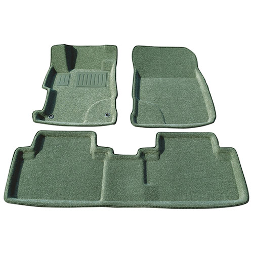Findway 3D Floor Mats for 2012-2013 Honda Civic (26090BY) - Grey