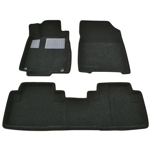 Findway 3D Floor Mats for 2012-2016 Honda CR-V Touring/EX-L (26180BB)- Black