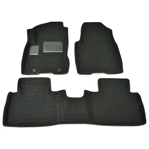 Findway 3D Floor Mats for 2008-2013 Nissan Rogue (46130BB) - Black