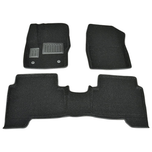 Findway 3D Floor Mats for 2013-2015 Ford Escape / C-MAX (22080BB) - Black