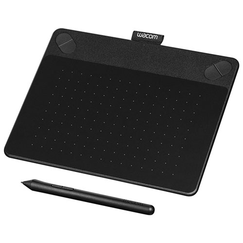 Wacom Intuos Comic Graphic Tablet (CTH490CK) - Small - Black