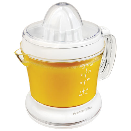 Procter Silex 34 oz Citrus Juicer - White