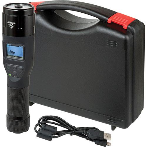 SuperEye Combination LED Flashlight with Audio/Video Camcorder