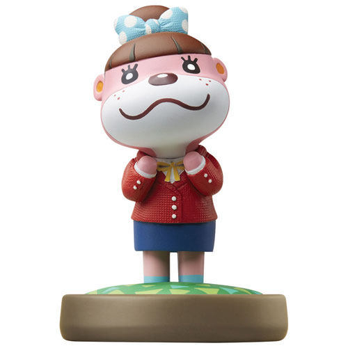 Figurine amiibo Lottie d'Animal Crossing: Happy Home Designer