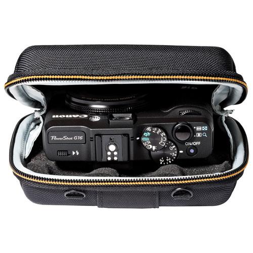 Étui en nylon/EVA Santiago 30 II de Lowepro pour appareil photo numérique (LP36855) - Noir
