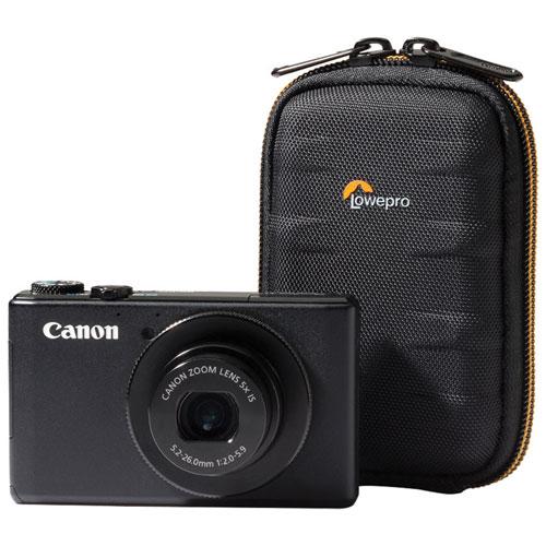 Étui en nylon/EVA Santiago 10 II de Lowepro pour appareil photo numérique (LP36857) - Noir