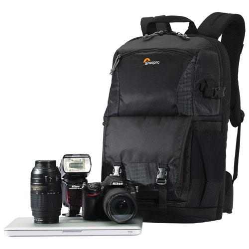 Lowepro Fastpack BP 250 AW II Nylon Digital SLR Camera Backpack (LP36869) - Black