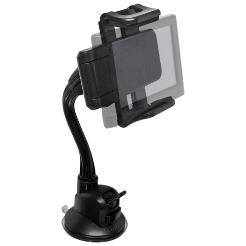 Support de pare-brise universel TekGrip de Bracketron pour appareil portatif (BT1-642 -2) - Noir