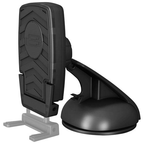 Support universel de tableau de bord Si de Bracketron pour appareil portatif (BT1-635-2) - Noir
