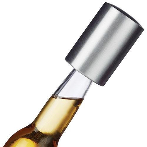 Décapsuleur à bouteille de bière Caps Off de Brilliant - Argenté - Noir