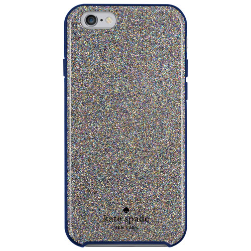 kate spade new york iPhone 6/6s Hybrid Hard Shell Case - Glitter/Navy