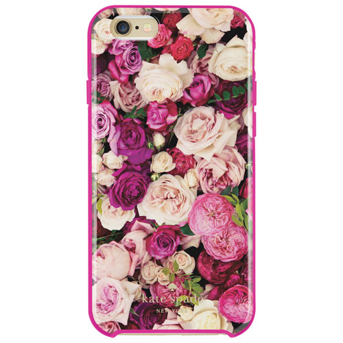 Étui rigide hybride de Kate Spade New York pour iPhone 6/6s - Roses
