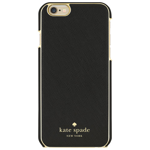 kate spade new york iPhone 6/6s Fitted Hard Shell Case - Black