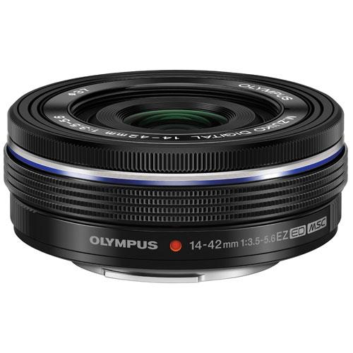 Objectif à zoom électronique ED 14-42 mm f/3,5-5,6 M.Zuiko d'Olympus - Noir