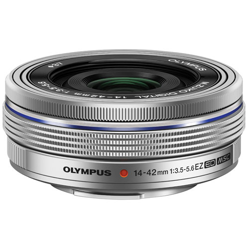 Olympus M.Zuiko ED 14-42mm f/3.5-5.6 EZ Lens - Silver