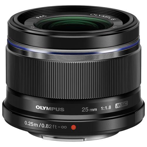 Olympus M.Zuiko 25mm f/1.8 Lens - Black