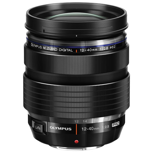 Olympus M.Zuiko 12-40mm f/2.8 PRO Lens - Black