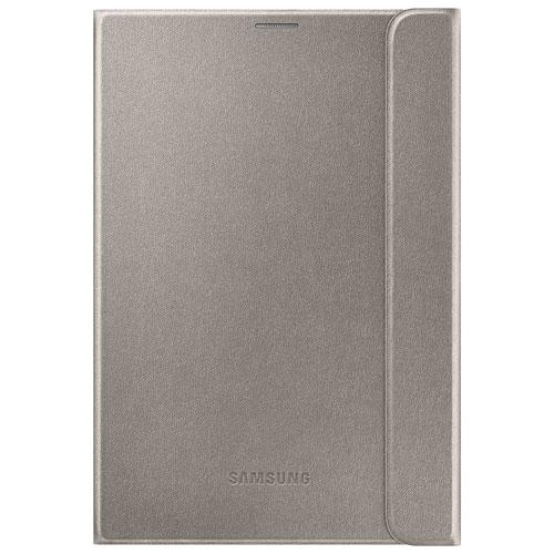 Étui folio pour Galaxy Tab S2 de 9,7 po de Samsung (EF-BT810PFEGCA) - Doré
