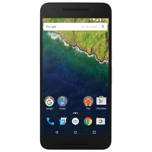 Google Nexus 6P 32GB - Black - Unlocked