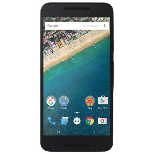 Google Nexus 5X 16GB - Black - Unlocked