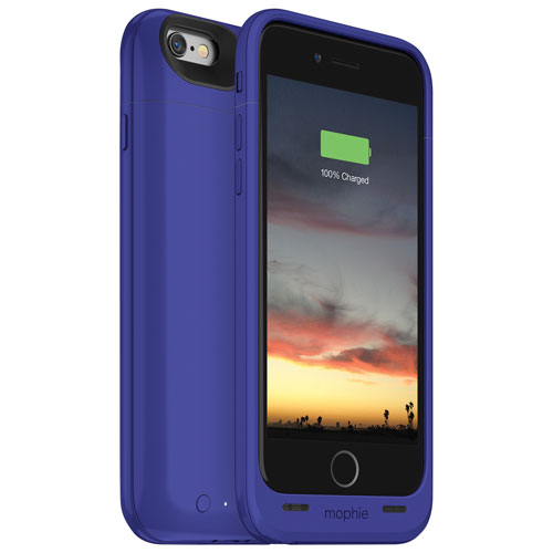 mophie juice pack air iPhone 6/6s Battery Case - Purple