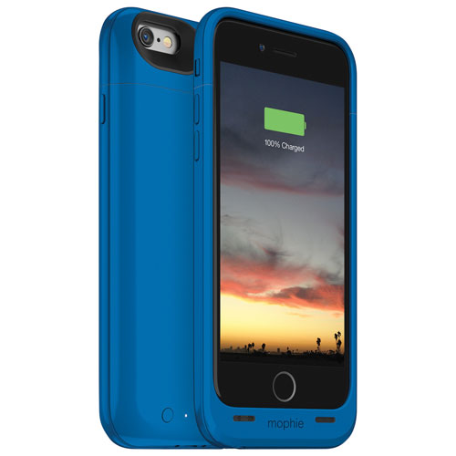 Étui-batterie juice pack air de mophie pour iPhone 6/6s - Bleu
