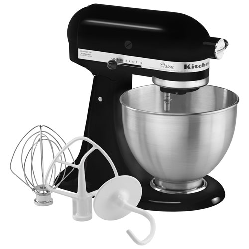 Kitchenaid Classic Stand Mixer 4 5qt 250 Watt Onyx