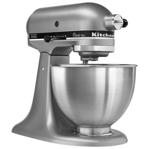 KitchenAid Classic Plus Stand Mixer - 4.5Qt - 275-Watt - Silver