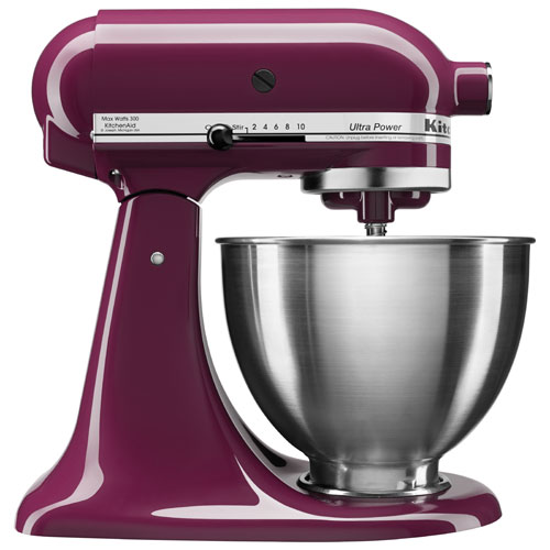 KitchenAid Ultra Power Stand Mixer - 4.26L - 300-Watt - Boysenberry