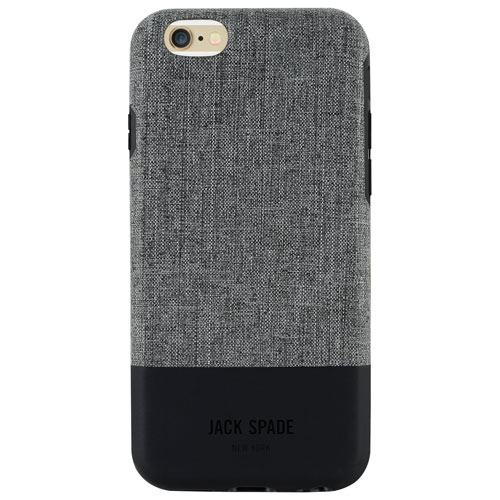 JACK SPADE Colour Block iPhone 6/6s Fitted Hard Shell Case - Tech Ox/Grey