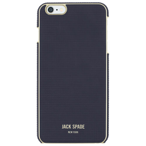 JACK SPADE iPhone 6 Plus/6s Plus Wrap Fitted Hard Shell Case - Navy