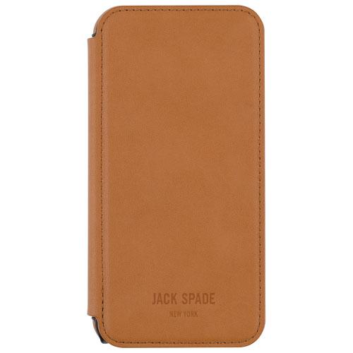 Étui folio de JACK SPADE pour iPhone 6 Plus/6s Plus - Havane