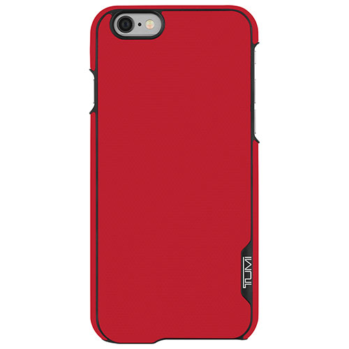 TUMI iPhone 6/6s Fitted Hard Shell Case - Canvas Red