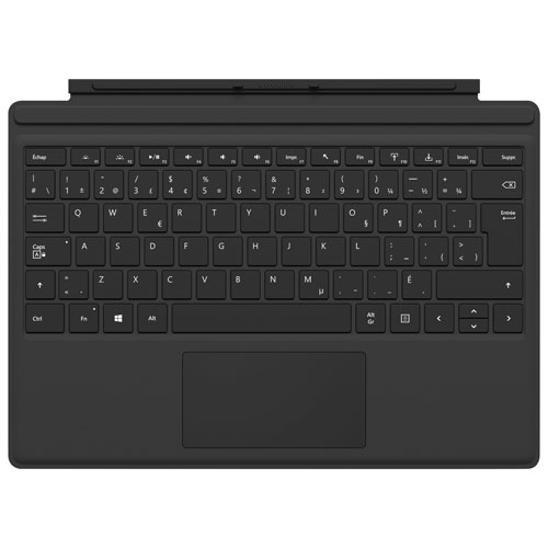 Microsoft Surface Pro Type Cover - Black - French