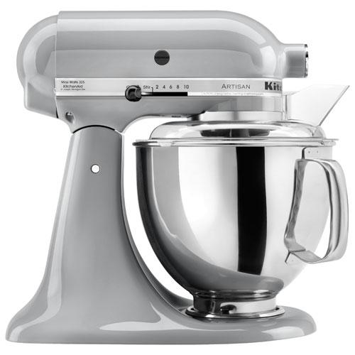 KitchenAid KSM150PSMC Artisan Stand Mixer - 5Qt - 325-Watt - Metallic Chrome