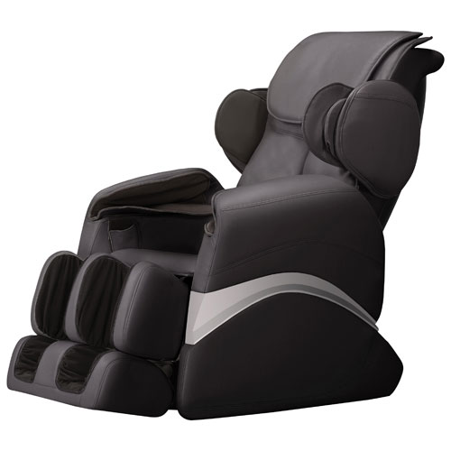 iComfort Polyurethane Power Recliner Massage Chair - Black  sc 1 st  Best Buy Canada : reclining chairs canada - islam-shia.org