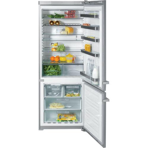 "Mini Modern Kitchen Miele Gaggenau: Miele 30"" Freestanding Bottom-Mount Fridge/Freezer (KFN"