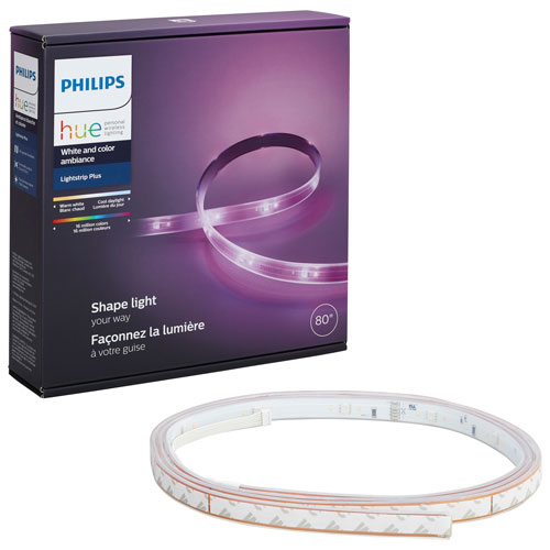 Phillips Hue 2m (6.5 ft.) LED Lightstrip Plus