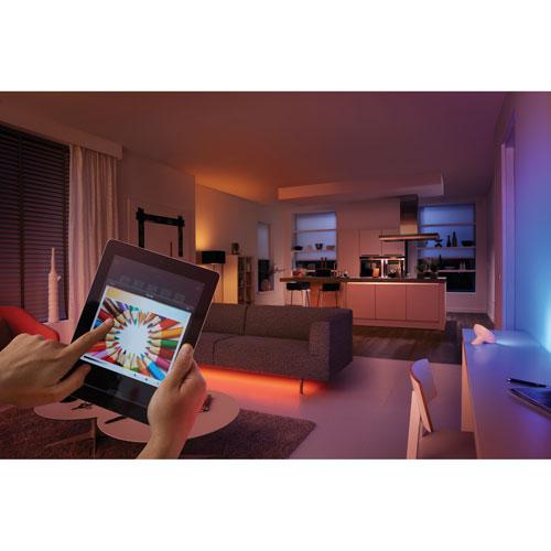 Philips Hue 2m (6 5 ft ) LED Lightstrip Plus | Best Buy Canada