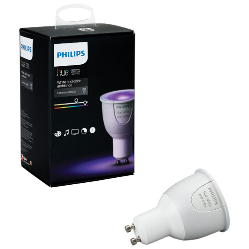 philips hue gu10 add on smart led light bulb 456681 multi colour smart lights best buy. Black Bedroom Furniture Sets. Home Design Ideas